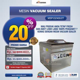 Jual Vacuum Sealer Double SealMSP-DZ400/2T di Surabaya