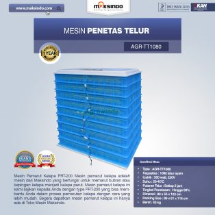 Jual Mesin Penetas Telur AGR-TT1080 Di Surabaya