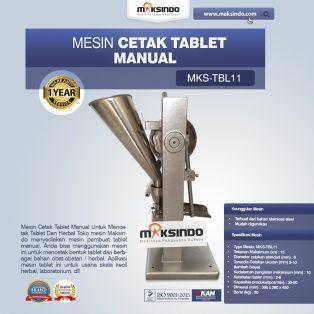 Jual Mesin Cetak Tablet Manual – MKS-TBL11 di Surabaya