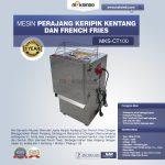 Jual Mesin Perajang Keripik Kentang dan French Fries – MKS-CT100 di Surabaya