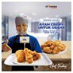 Training Sukses Ayam Crispy Untuk Usaha, Sabtu 27 Juli 2019