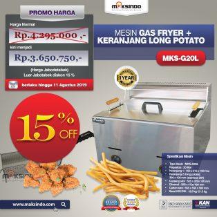 Jual Paket Mesin Long Potato Kentang Panjang di Surabaya