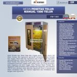 Jual Mesin Penetas Telur Manual 1000 Telur (EM-1000) di Surabaya