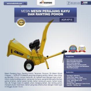Jual Mesin Perajang Kayu dan Ranting Pohon – KP15 di Surabaya