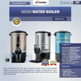 Jual Mesin Water Boiler 10 Liter (MKS-D10) di Surabaya