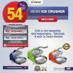 Mesin Ice Crusher MKS-CRS20