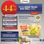 Mesin Pembuat Egg Roll (Gas) MKS-ERG002 di Surabaya