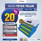 Jual Mesin Penetas Telur AGR-TT1320 Di Surabaya