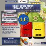 Jual Mesin Sosis Telur 4 Lubang Grillo-400 di Surabaya