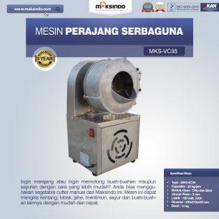 Jual Mesin Perajang SerbagunaMKS-VC35 di Surabaya
