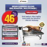 Mesin Kambing Guling BBQ Roaster (GRILLO-LMB22)