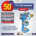 Mesin Ice Crusher MKS-ISE15 di Surabaya
