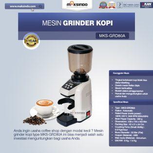Jual Mesin Grinder Kopi (MKS-GRD80A) di Surabaya