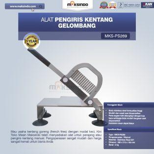 Jual Alat Pengiris Kentang Gelombang MKS-PS269 di Surabaya