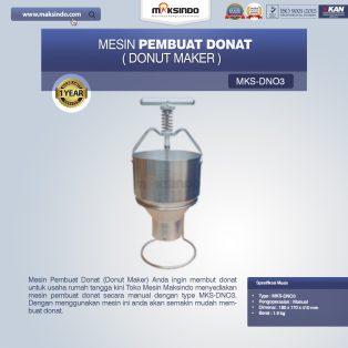 Jual Mesin Pembuat Donat (Donut Maker) MKS-DN03 di Surabaya