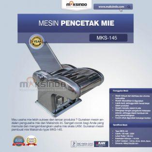 Jual Mesin Cetak Mie (MKS-145) di Surabaya