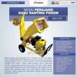 Jual Mesin Perajang Kayu dan Ranting – CP07 di Surabaya
