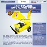 Jual Mesin Perajang Kayu dan Ranting Pohon – AGR-CP15 di Surabaya