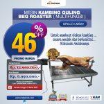 Mesin Kambing Guling BBQ Roaster (GRILLO-LMB11)