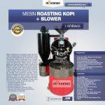 Jual Mesin Roasting Kopi + Blower LAFIRA05 di Surabaya
