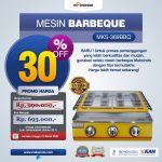 Jual Mesin Pemanggang Sate – BBQ 3 Tungku (Gas) MKS-369BBQ di Surabaya