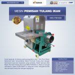 Jual Mesin Pemisah Tulang Ikan MKS-FISH200 Di Surabaya