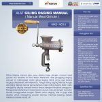Jual Alat Giling Daging Manual (Iron) di Surabaya