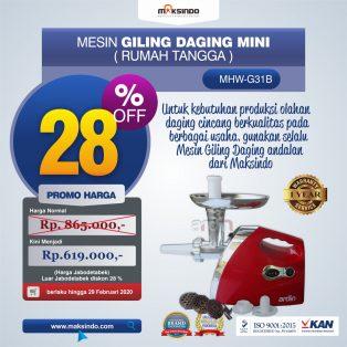 Jual Mesin Giling Daging Mini (Rumah Tangga) – Ardin di Surabaya