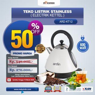 Jual Teko Listrik Stainless (Electrik Kettel) ARD-KT12 di Surabaya