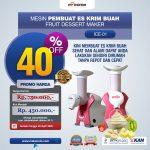 Jual Mesin Es Krim Buah Rumah Tangga di Surabaya