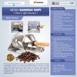 Jual Mesin Sangrai Kopi (Coffee Roaster) MKS-CRG400 di Surabaya