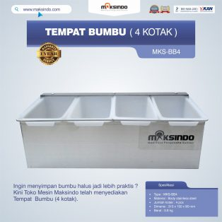 Jual Tempat Bumbu (4 kotak) di Surabaya