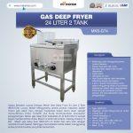 Jual Gas Deep Fryer 24 Liter 2 Tank (G74) di Surabaya