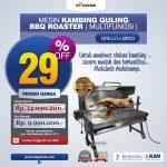 Mesin Kambing Guling BBQ Roaster (GRILLO-LMB33) di Surabaya