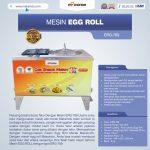 Jual Mesin Egg Roll ERG-789 di Surabaya