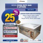 Jual Mesin Oven Roti Gas 2 Loyang (MKS-RS12) di Surabaya