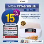 Jual Mesin Penetas Telur 56 Butir (AGR-TT56) di Surabaya