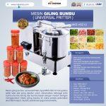 Jual Mesin Giling Bumbu (Universal Fritter) MKS VGC12 di Surabaya