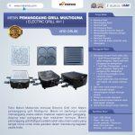 Jual Mesin Pemanggang Grill Multiguna (Electric Grill 4in1) ARD-GRL88 Di Surabaya
