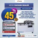 Jual Mesin Vacuum Sealer (MSP-DZ400/2E) di Surabaya