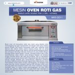 Jual Mesin Oven Roti Gas (MKS-GO11) di Surabaya