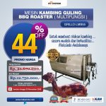 Jual Mesin Kambing Guling Double Location Roaster (GRILLO-LMB55) di Surabaya