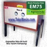Jual Mesin Penetas Telur Manual 75 Butir (EM-75) di Surabaya
