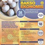 Training Cara Membuat Bakso Ekonomis 4 Juni 2016