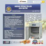 Jual Mesin Tetas Telur Industri 264 Butir (Industrial Incubator) di Surabaya