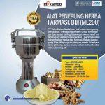 Jual Penepung Herba, Farmasi, Biji (ML200) di Surabaya