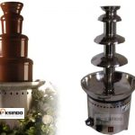 Jual Mesin Chocolate Fountain 4 Tier (MKS-CC4) di Surabaya