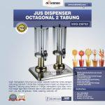 Jual Jus Dispenser Octagonal 2 Tabung  (DSP32) di Surabaya