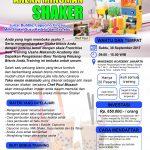 Training Usaha Aneka Minuman Shaker, 30 September 2017