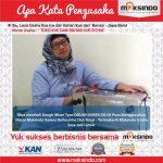 Toko Kue dan Bahan Kue B'chia : Usaha Berjalan Memuaskan Berkat Dough Mixer Maksindo